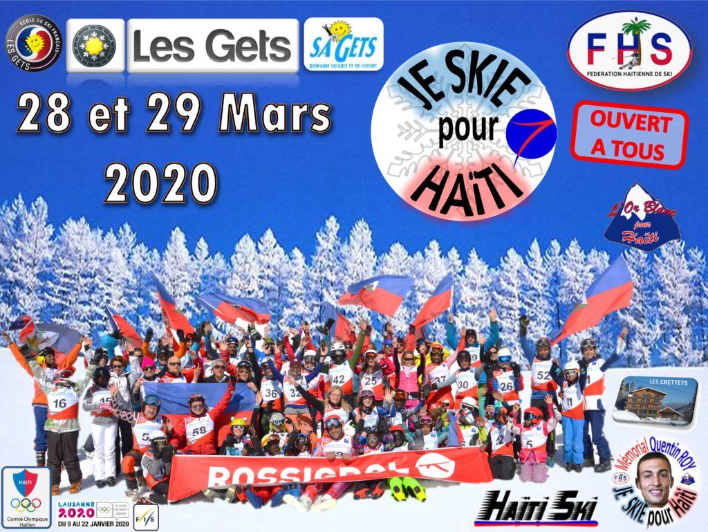 Je Skie pour Haîti 2020