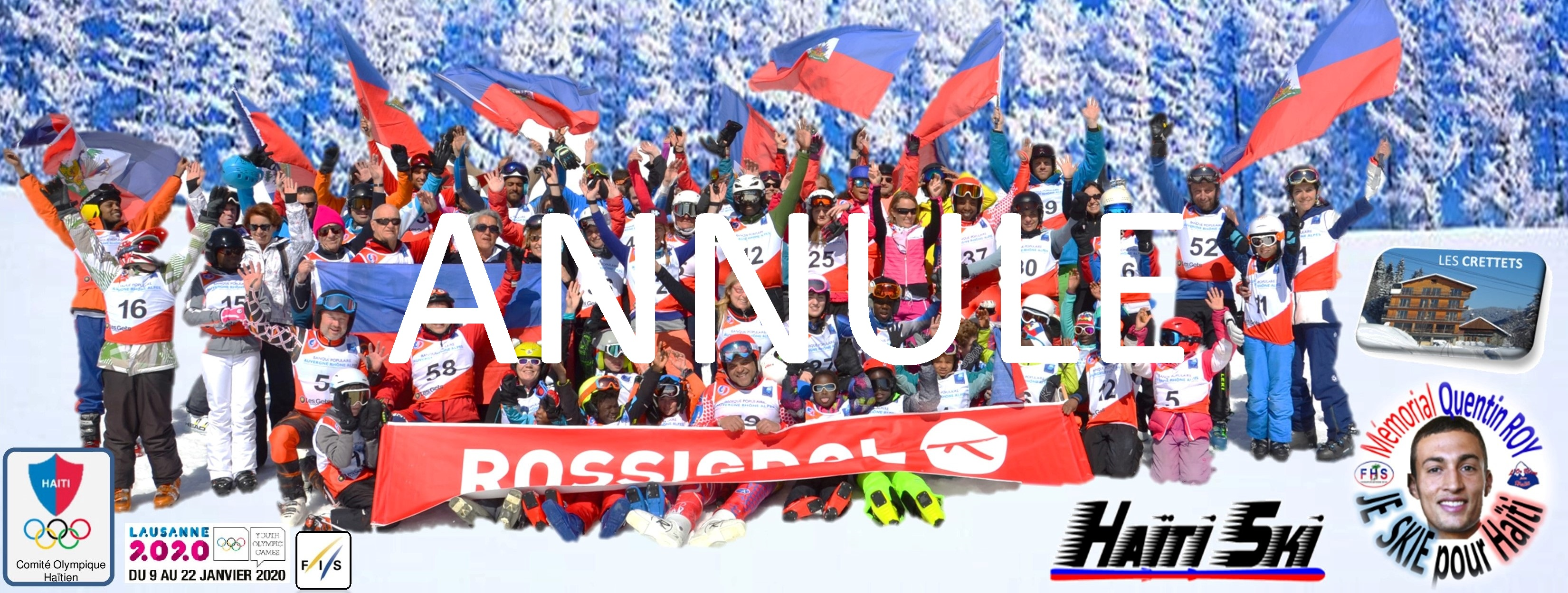 JE SKIE POUR HAITI 2020 - ANNULE CORONAVIRUS